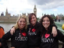 girls touring london