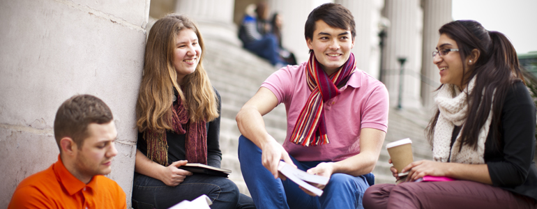 Students at University College London