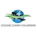 Oceans 2 Earth Volunteers Logo