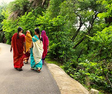 The Beautiful Fabrics of India.