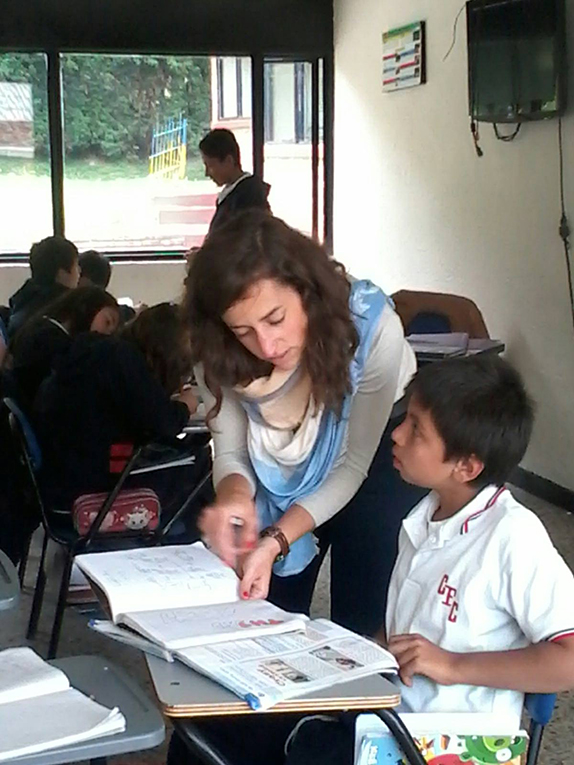Teaching in Colombia