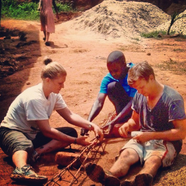 Volunteering in Uganda in Construction