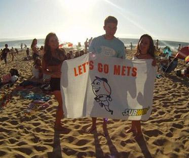 Mike enjoying Reñaca Beach in Viña del Mar, Chile with friends.