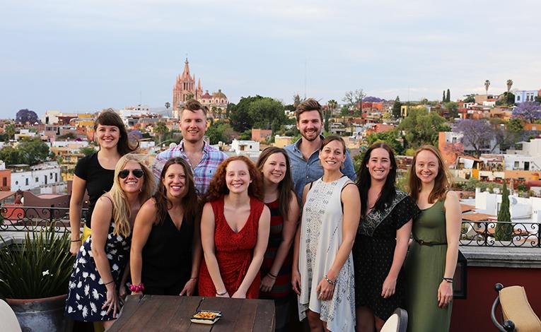 Greenheart Travel staff in San Miguel de Allende, México