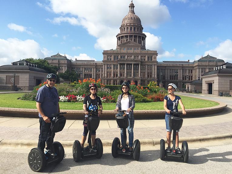 Segway tour in Austin, Texas