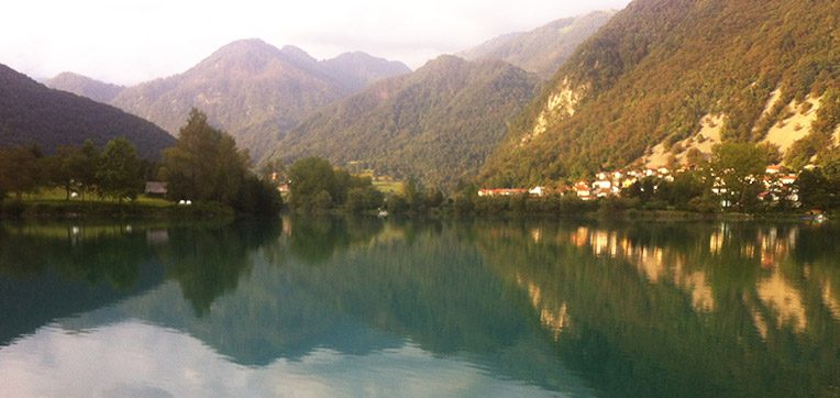 lake in Slovenia