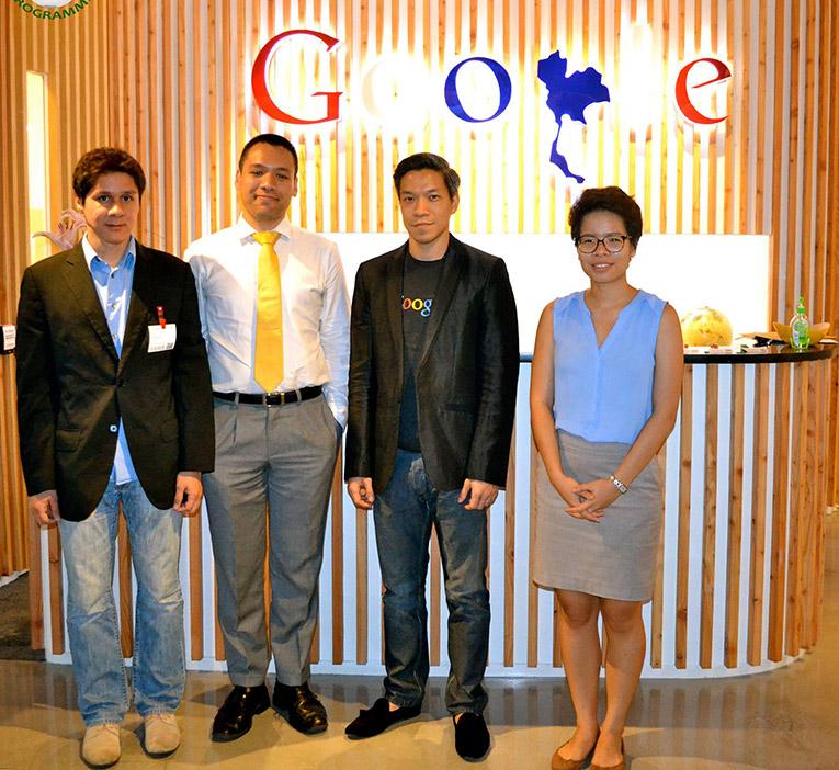 Asia Internship Programme staff at Google in Thailand