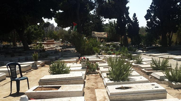Cemetery in Lebanon