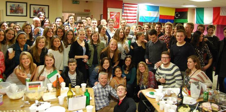 CEA Study Abroad International Food Night