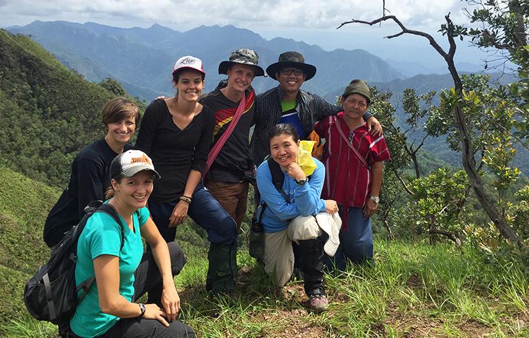 Hiking in Mae Hong Son, Thailand