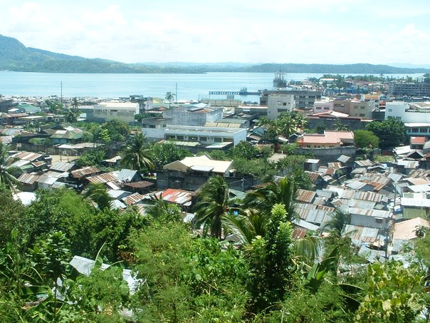 A view of Tacloban City, Philippines