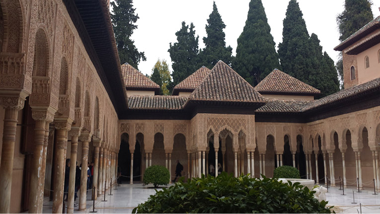 The Alhambra in Granada, Spain