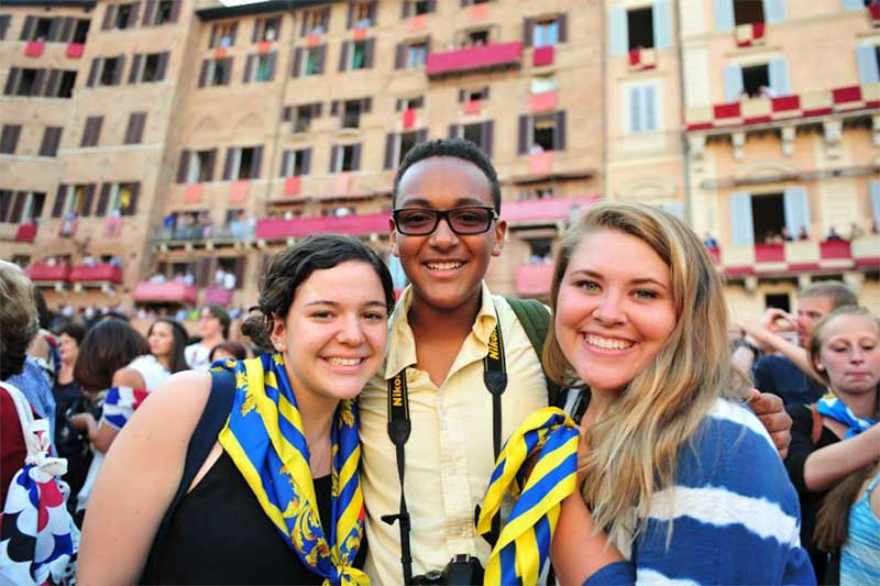 Palio di Siena celebration in Italy