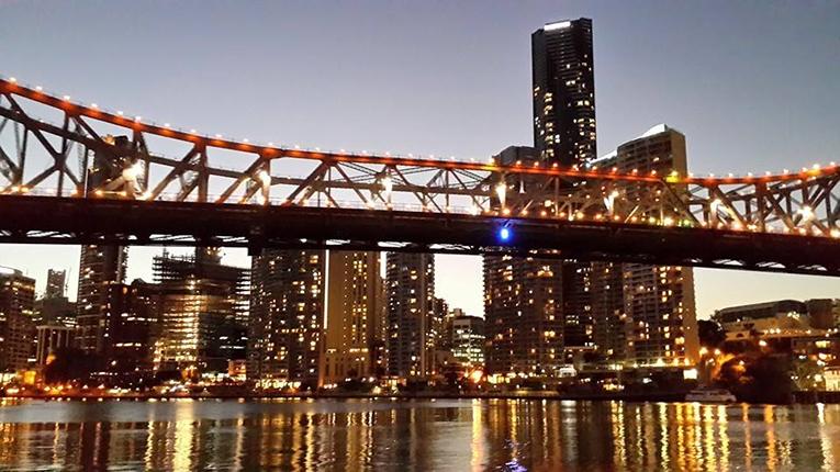 Story Bridge at night, Brisbane, Australia