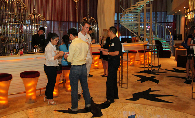 Networking event in China