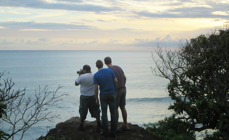 Pacific Coast sunset in Costa Rica