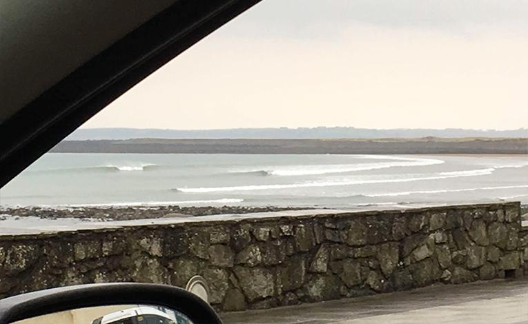 Strandhill Beach in County Mayo, Ireland