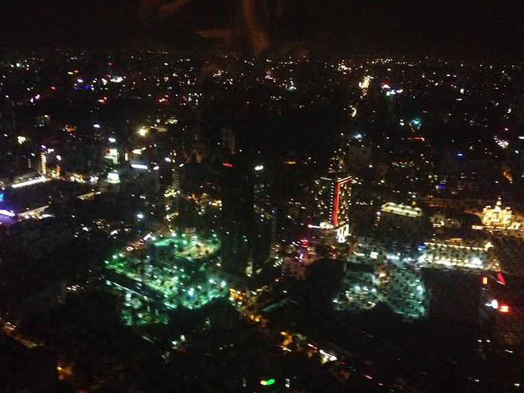 Ho Chi Minh City, Vietnam at night