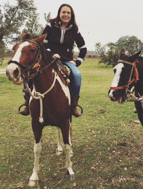 Horse riding in Argentina