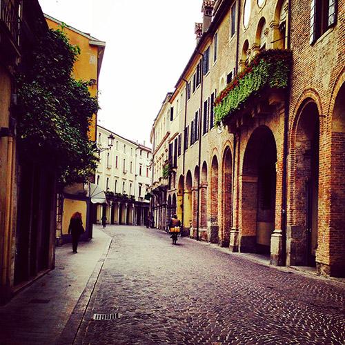main street in Padua