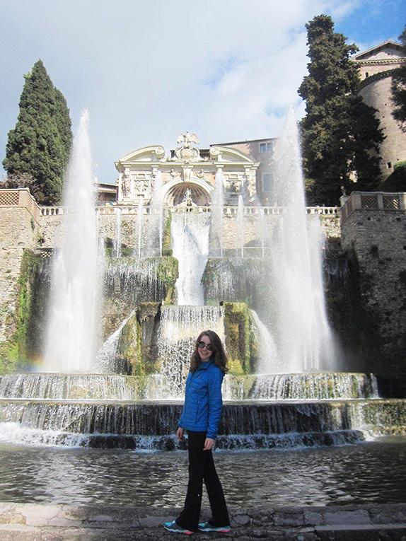 Tivoli Gardens in Italy
