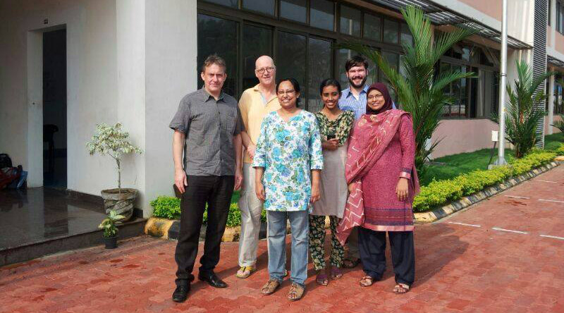 Founder of Oxford TEFL with students in Kerala, India