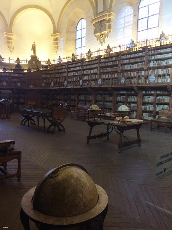 The old library of Universidad de Salamanca