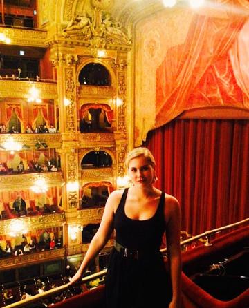 Inside Teatro Colon, Buenos Aires, Argentina