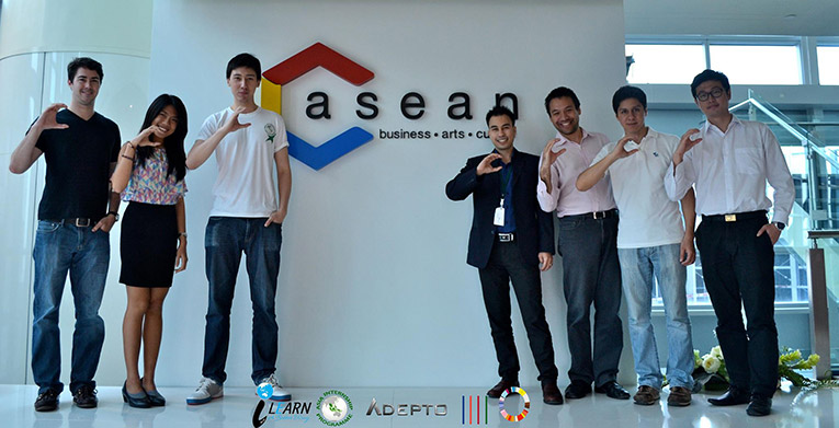 Asia Internships Programme Global Ground Team at the C asean tour