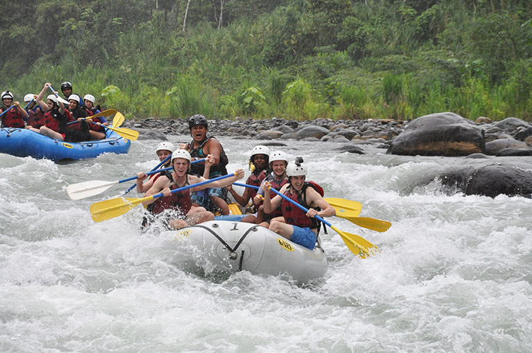 White Water Rafting on the Rio Savegre in Costa Rica