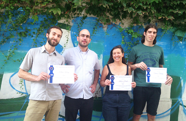TEFLArgentina graduates with their trainer