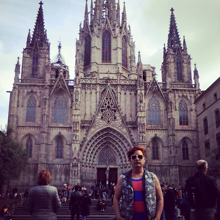Barcelona Cathedral in Barcelona, Spain