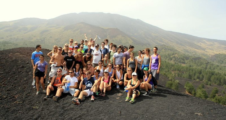 Hiking Mt. Etna in Sicily, Italy