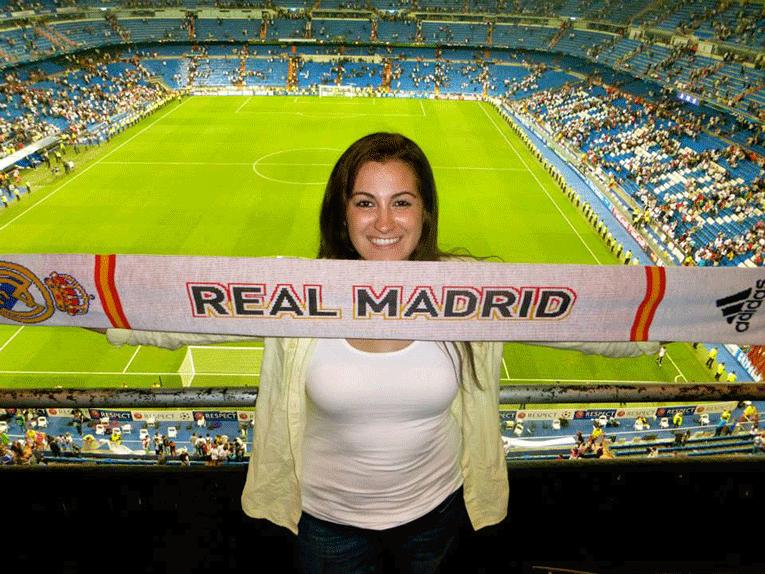 Real Madrid Game in Madrid, Spain