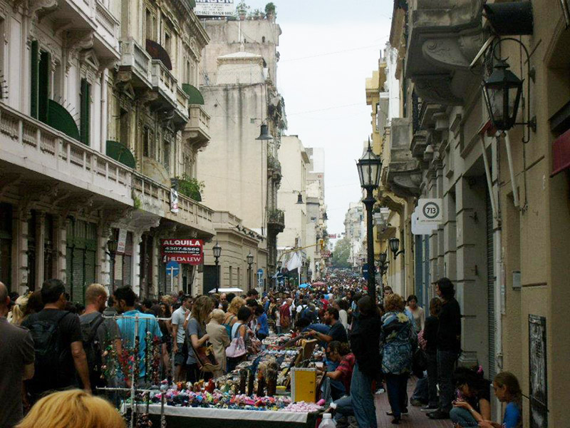 San Telmo Market in Buenos Aires.