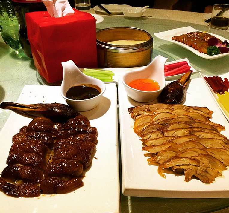 Peking duck in China