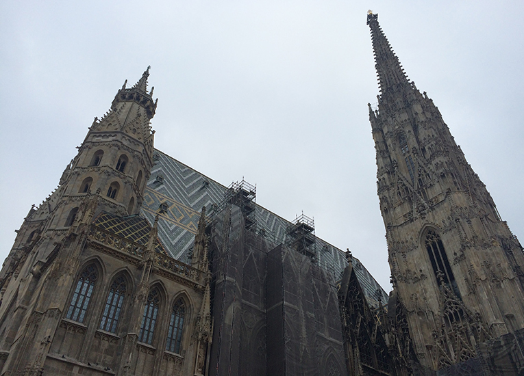 St. Stephens Cathedral in Vienna, Austria
