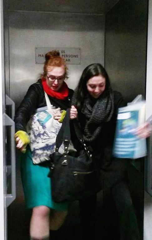 Girls at Sheffields Paternoster