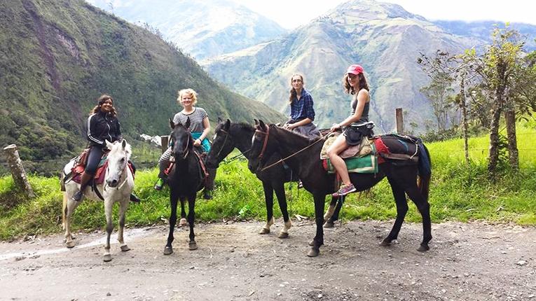 Horseback Riding in Baños, Ecuador