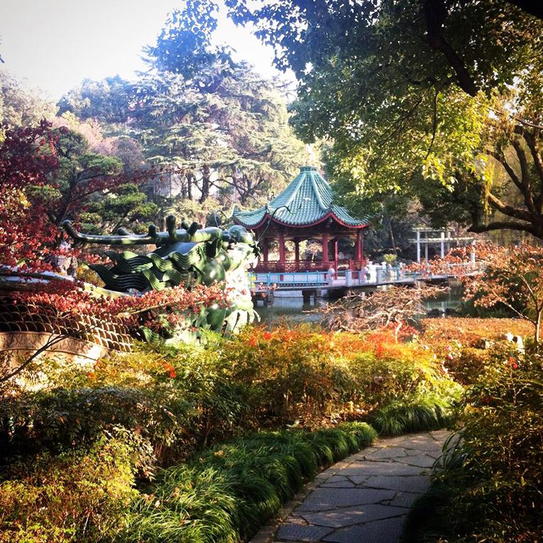 Shanghai Park in Shanghai, China