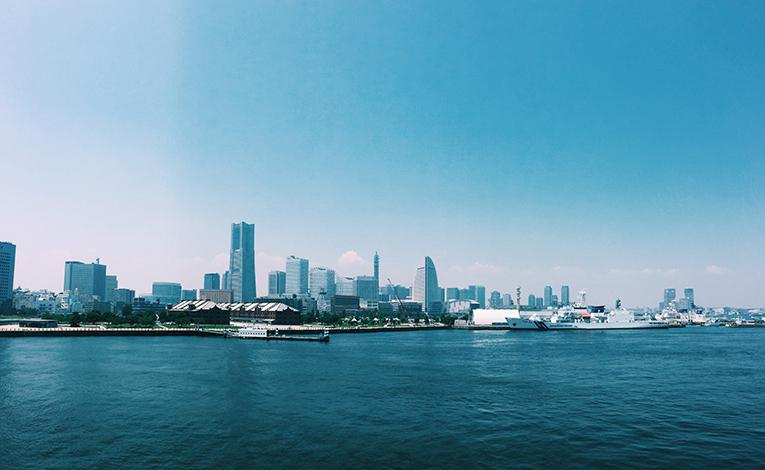 View of Yokohama, Japan