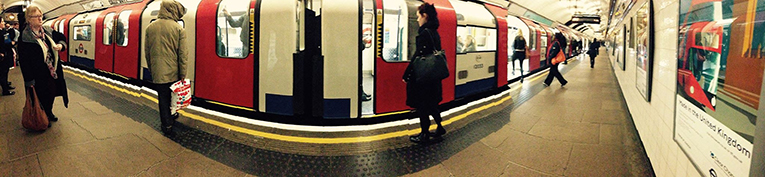 The Tube in London, England