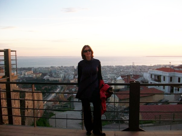View of Thermaikos Bay, Thessaloniki, Greece
