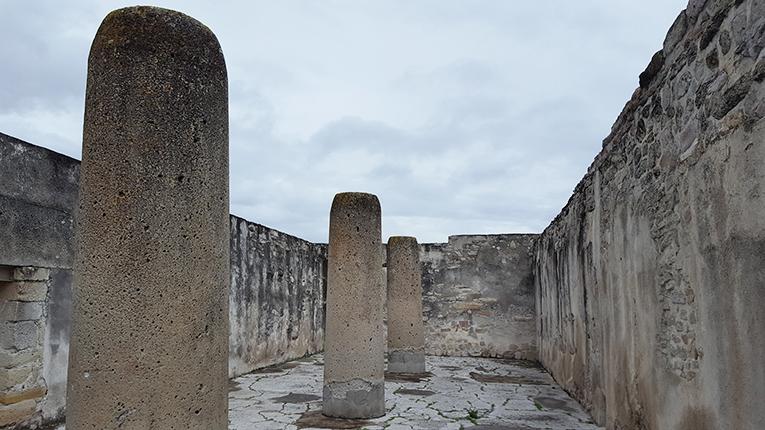 Mitla Ruins in Mexico