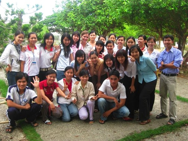 Students at Can Tho University