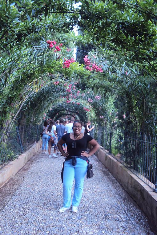 Visiting La Alhambra
