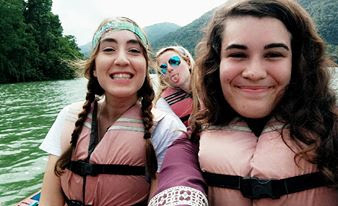 River rafting in Pokhara, Nepal