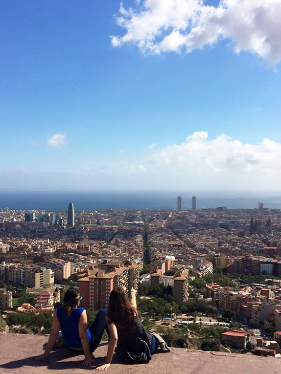 A view of Barcelona, Spain