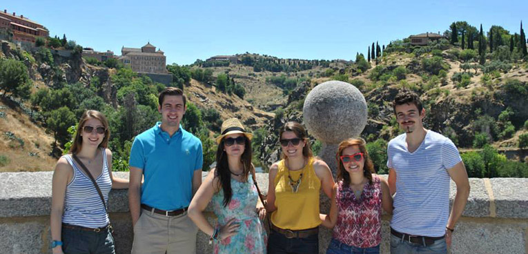 The Intern Group Toledo excursion in Spain