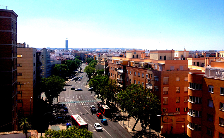 View of Sevilla, Spain